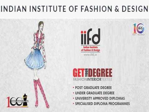 Fashion Design Institute By Iifd Issuu