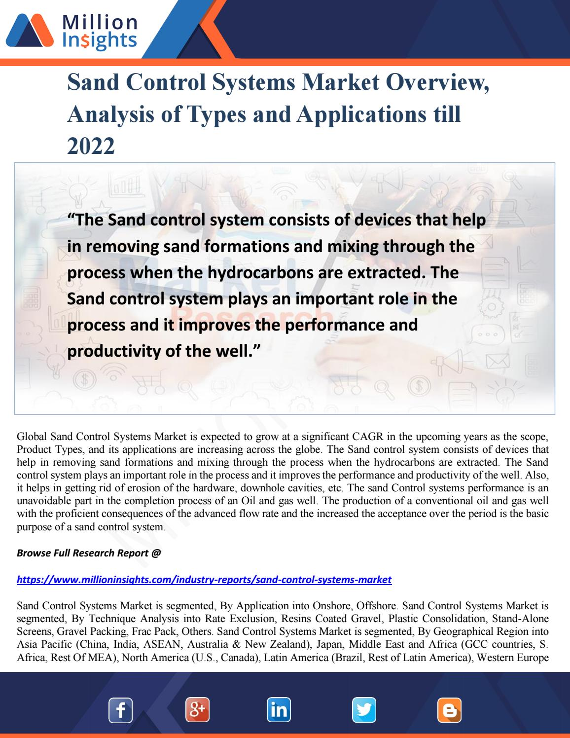 Types of sand, their characteristics, extraction and application