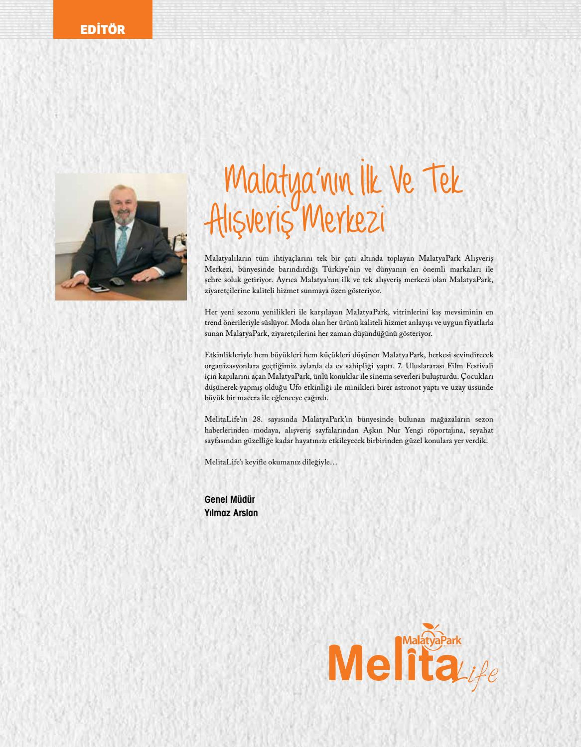 075c721de9303 Melita Life | 28. Sayı by malatyapark - issuu