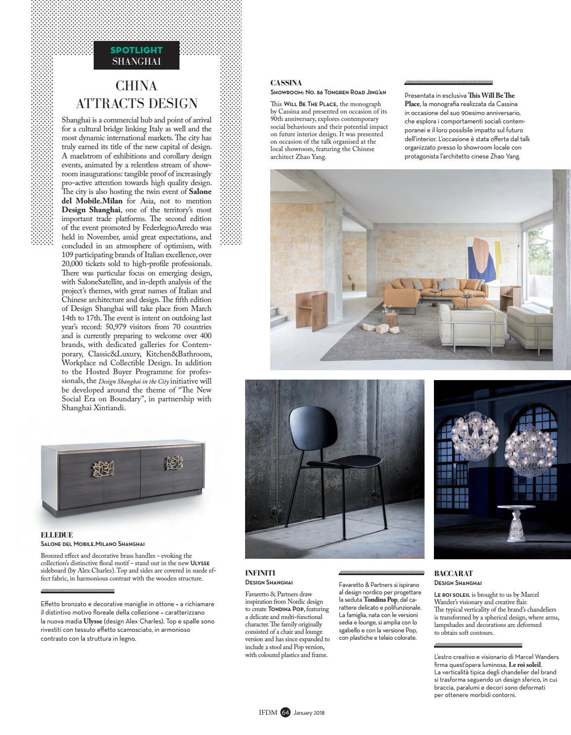 Sgabelli Colorati Interior Design.Ifdm N 1 2018 Europe Asia By Ifdm Issuu