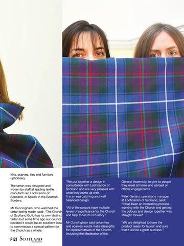Page 121 of Kirk designs own tartan to celebrate Scottish heritage