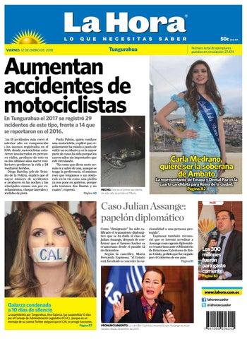 Ambato 12 de enero del 2018 by Diario La Hora Ecuador - issuu 6dfd8e2e2f50