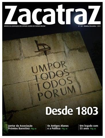Revista ZacatraZ nº 189 by AAACM - issuu 76cfccf81e
