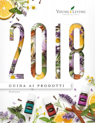 Guida Ai Prodotti 2018 It Eur By Young Living Essential Oils Issuu