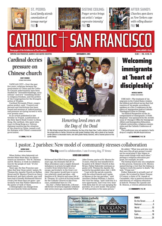 November 9, 2012 by Catholic San Francisco - issuu