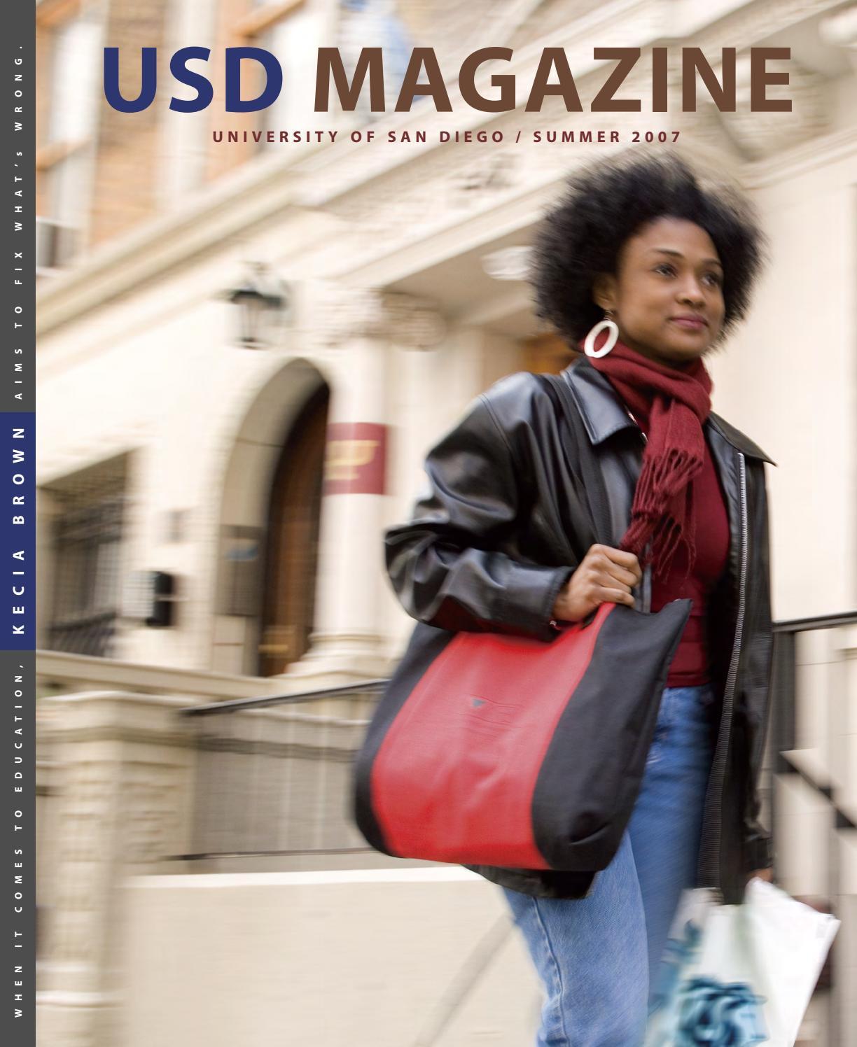 bb485bb0a514f Summer 2007 USD Magazine by University of San Diego - issuu