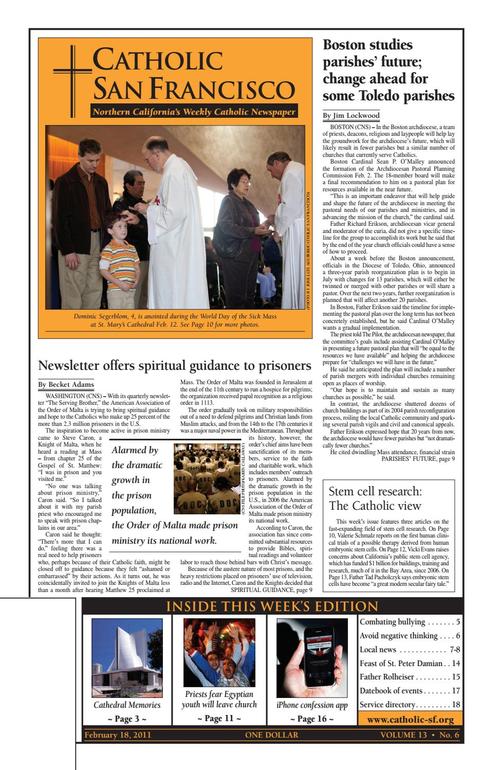 February 18, 2011 by Catholic San Francisco - issuu