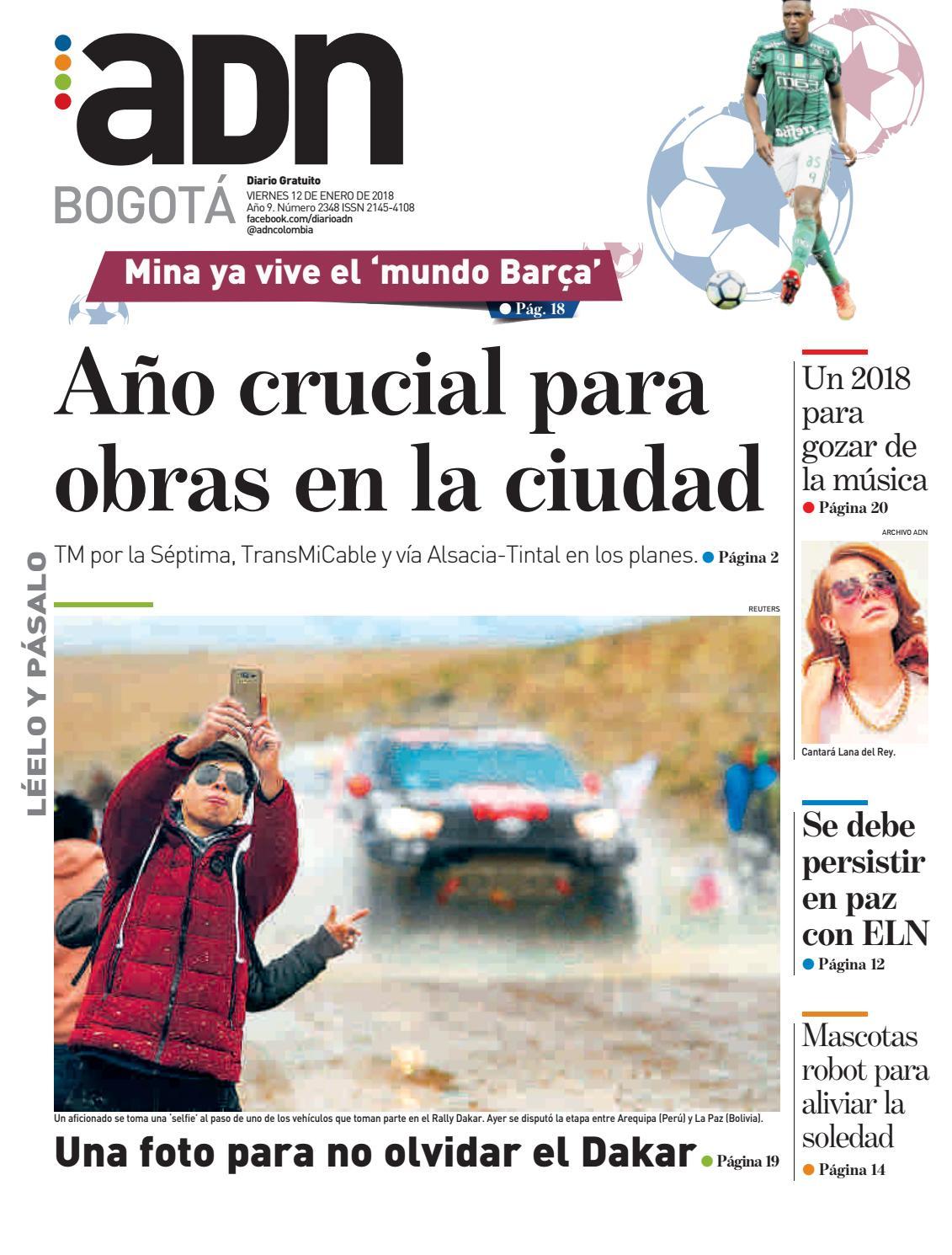 ADN Bogotá 12/01/2018 by diarioadn.co - issuu