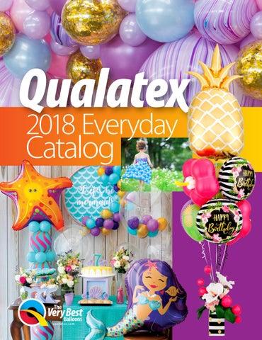 2018 Qualatex Everyday Catalog By Pioneer Balloon Company