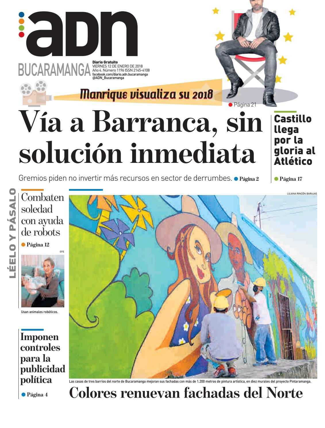 ADN Bucaramanga 12/01/2018 by diarioadn.co - issuu