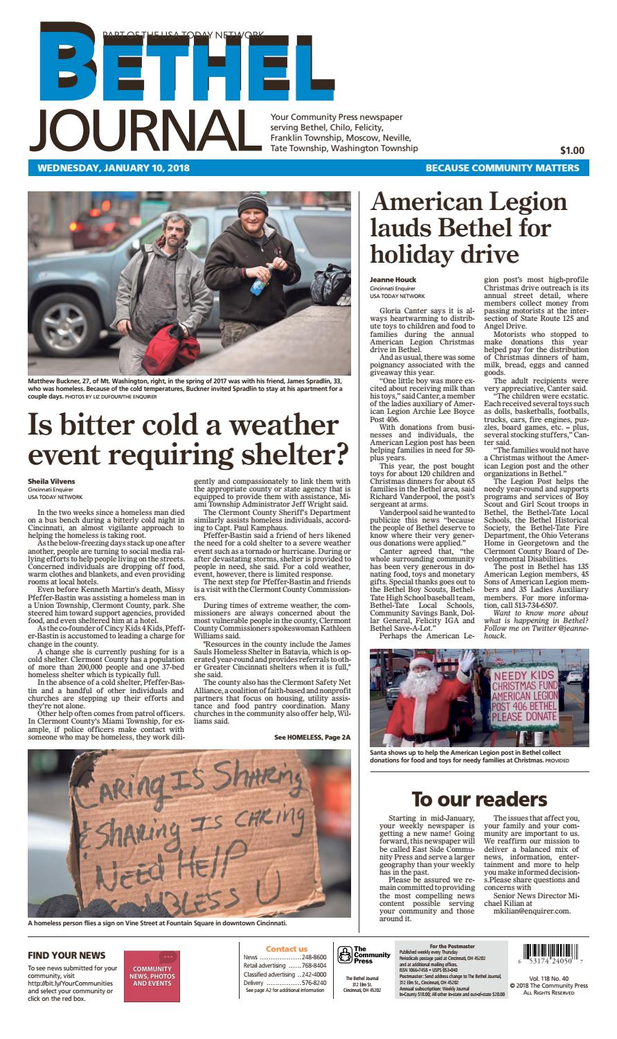 Bethel journal 011018 by enquirer media issuu sciox Image collections