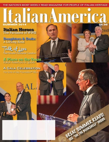 Italian America Magazine Summer 2014 by ordersonsofitaly - issuu