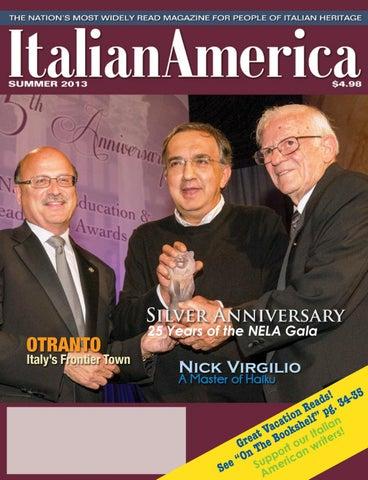 194da0397e76 Italian America Magazine Summer 2013 by ordersonsofitaly - issuu