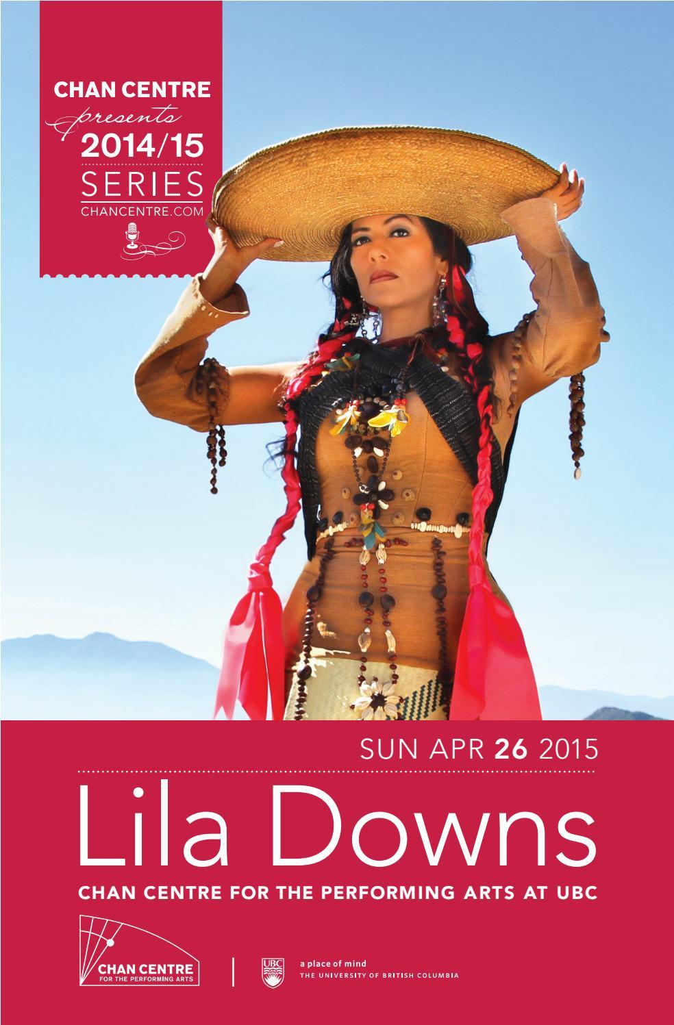 Lila Downs - Program