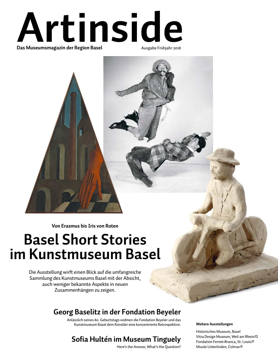 Artinside Spring 2018 by Artinside – Museums in the Basel Area - issuu