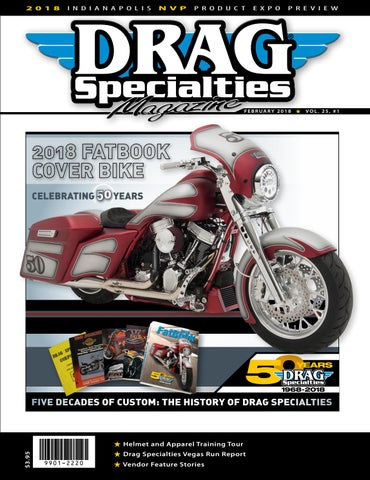 c02d98e943f Drag Specialties Magazine - February 2018 by Drag Specialties ...