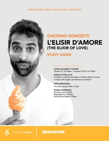 L'Elisir d'amore Study Guide
