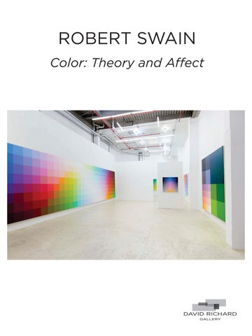 Robert Swain Color Theory And Affect By David Richard Gallery Issuu