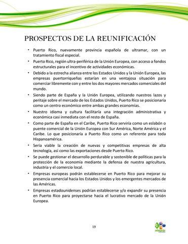 Page 19 of Prospectos de la Reunificación