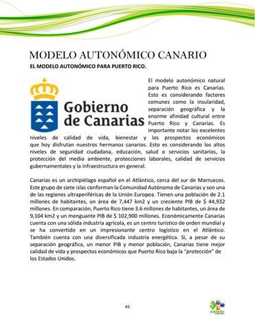 Page 45 of El Modelo Autonómico Canario