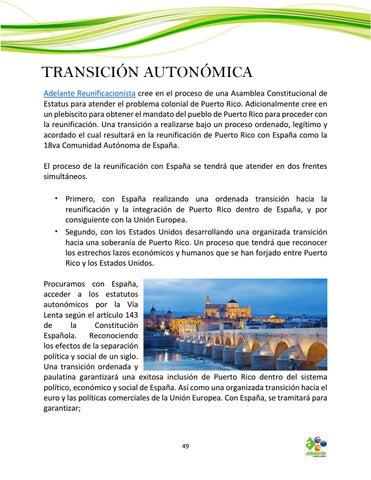 Page 49 of La Transición Autonómica