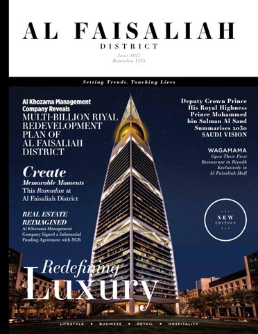 Al Faisaliah District Magazine Issue 01 by tpg publishing - issuu
