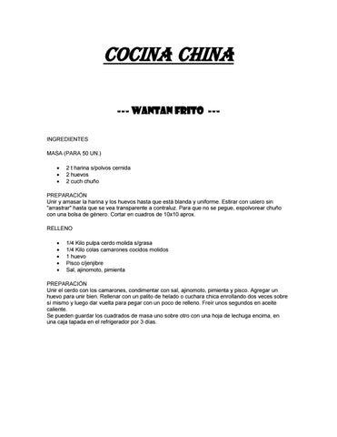 Coleccion de recetas internacionales by Mi cocina -> your kitchen ...