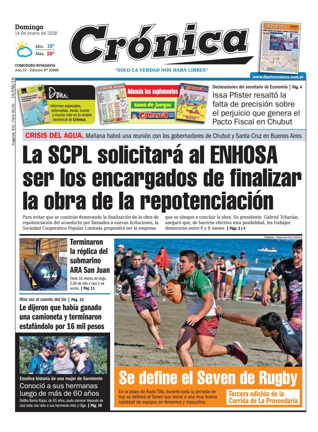 51905c8b7ca7a67b5b3509a7ffb4cbdf by Diario Crónica - issuu