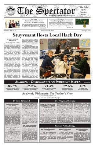 The Spectator The Stuyvesant High School Newspaper 5ab17f8e03c