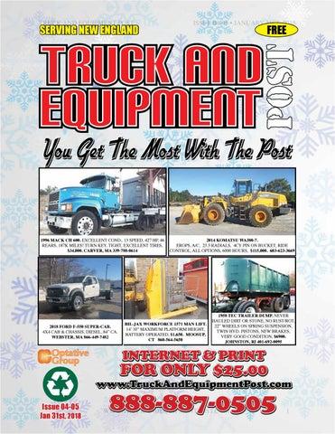 Truck equipment post 04 05 2018 by 1ClickAway - issuu
