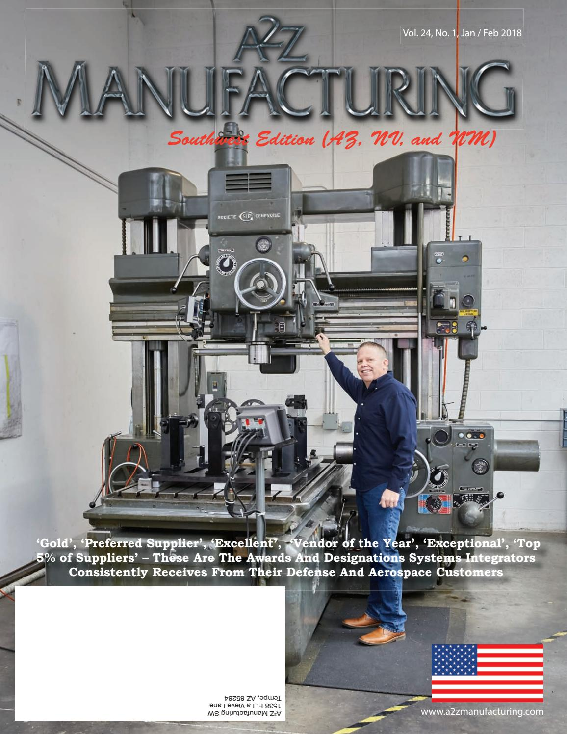 080acf52ab1 A2Z Manufacturing sw jan 2018 by A2Z Manufacturing Magazines - issuu