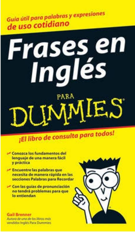 Frases En Inglés Para Dummies Gail Brenner By María Martínez