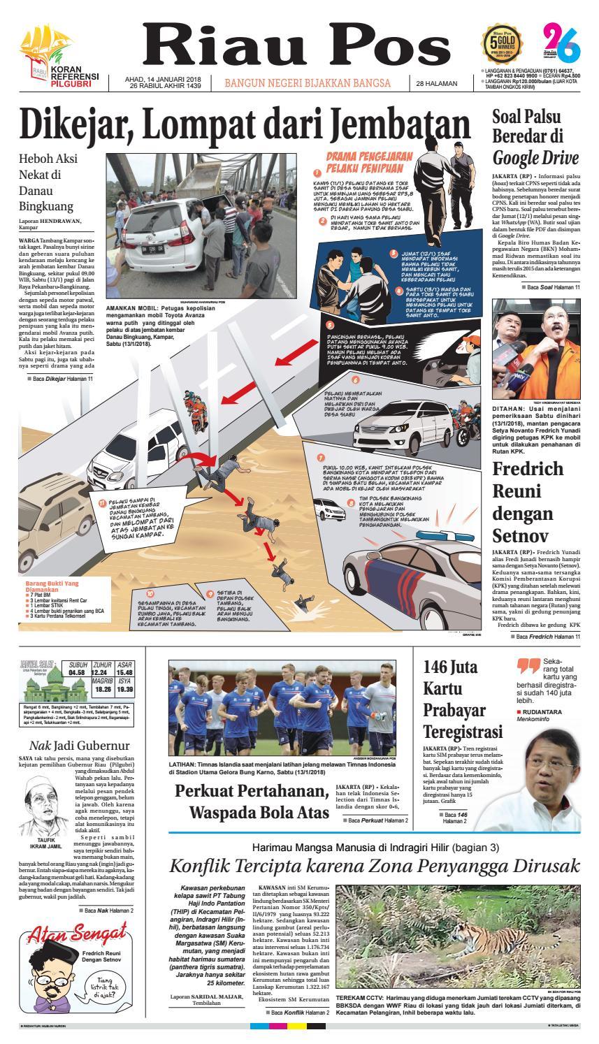 2018 01 14 By Riau Pos Issuu