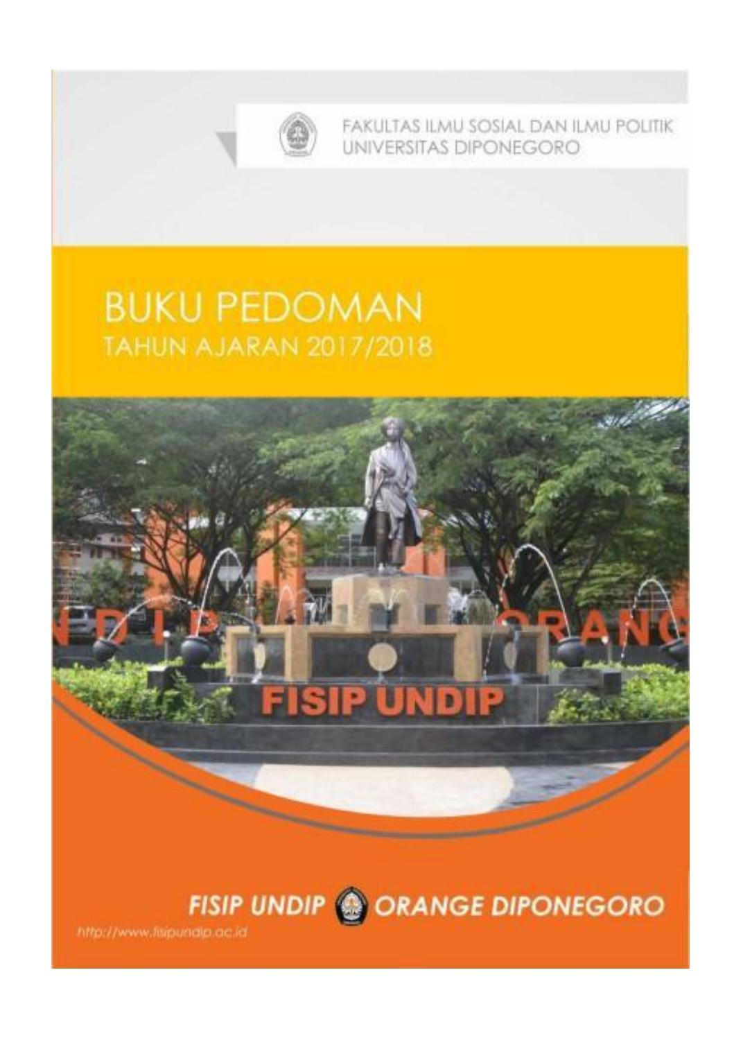 Buku Pedoman 2017 2018 By Orange Diponegoro Issuu