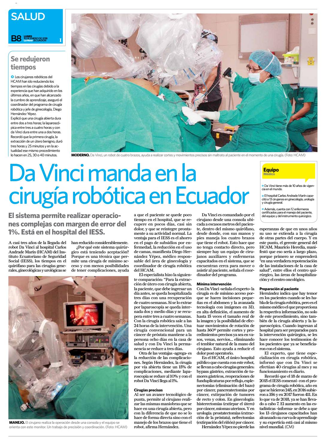 cirugía de próstata en el hospital magenta es