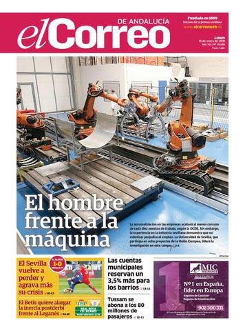 15.01.2018 El Correo de Andalucía by EL CORREO DE ANDALUCÍA S.L. - issuu 3c5ffa0fc36