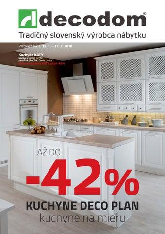 a12987a0c383 Tradičný slovenský výrobca nábytku Platnosť akcie  15. 1. - 13. 2. 2018.  Kuchyňa KATY