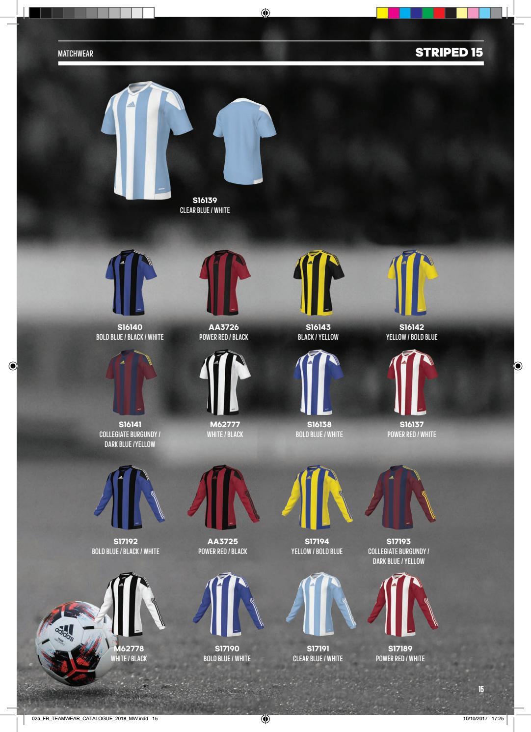 arrastrar Etna caligrafía  Adidas Teamsport-Katalog 2018 by Teamplayer - issuu