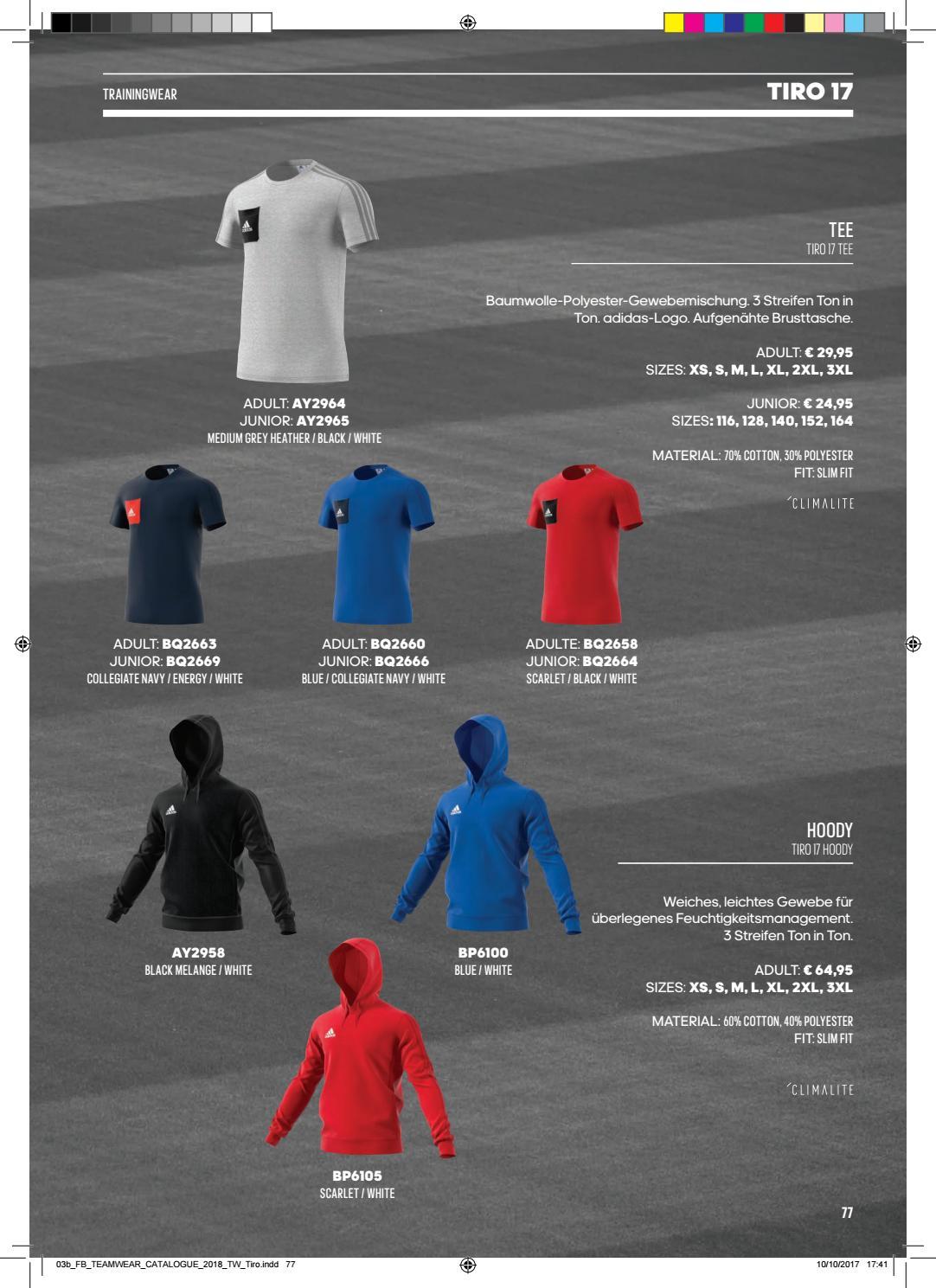 Adidas Teamsport Katalog 2018 by Teamplayer issuu