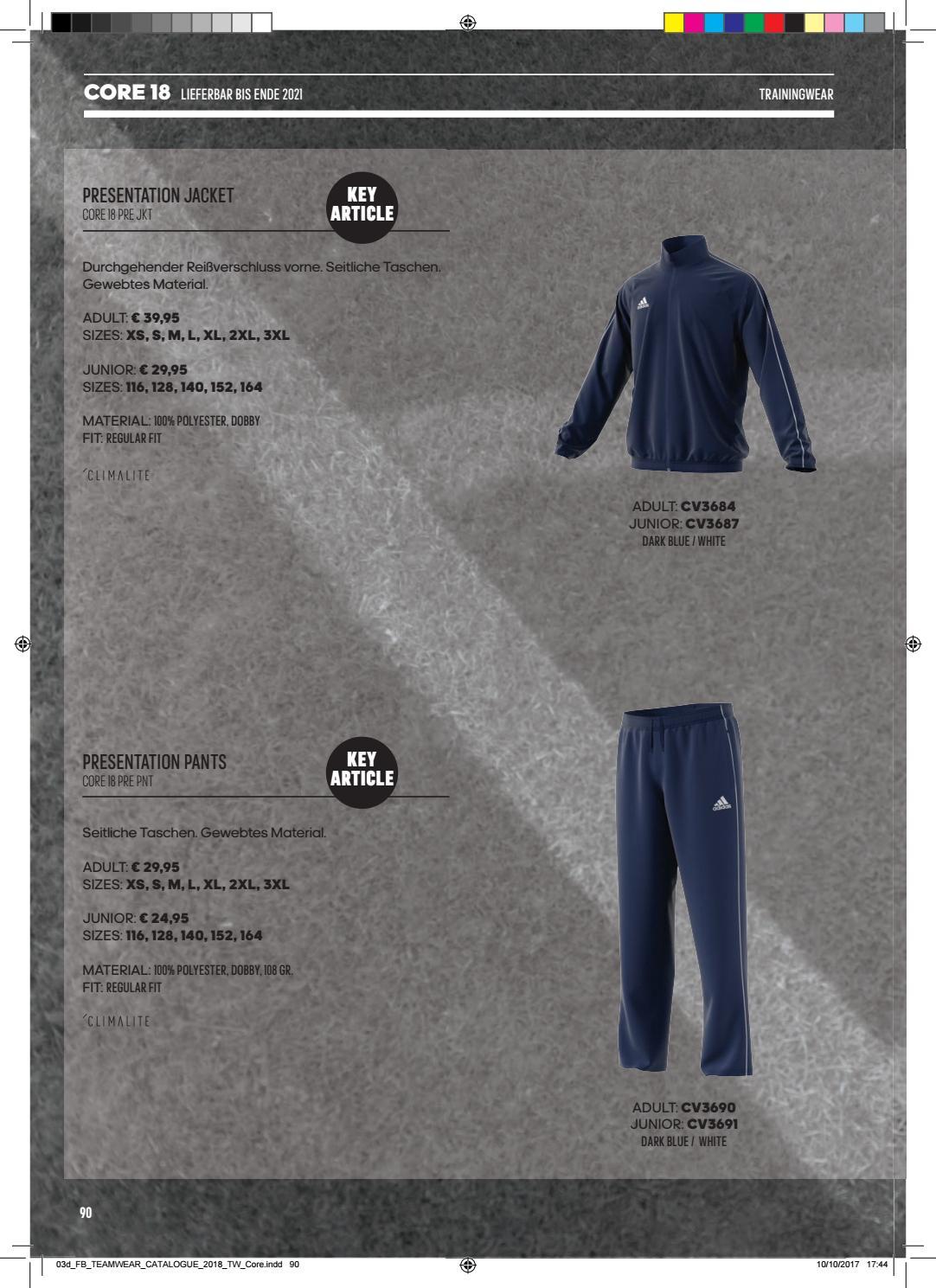 cuatro veces ruptura Noble  Adidas Teamsport-Katalog 2018 by Teamplayer - issuu