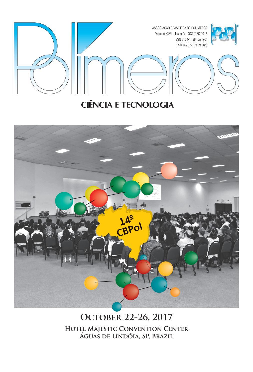 Polímeros: Ciência e Tecnologia 4th. issue, vol 27, 2017 by ...