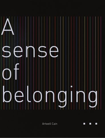 A Sense Of Belonging >> A Sense Of Belonging By Lm Publishers Issuu