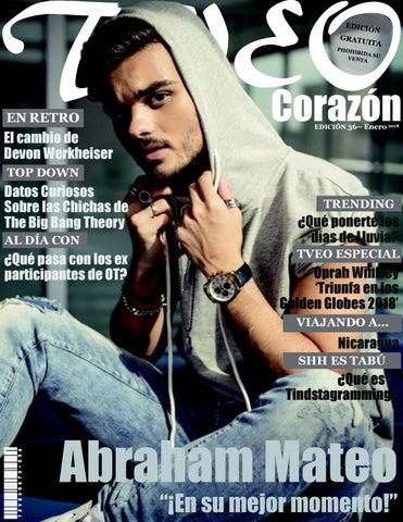 5da49489b1696 Abraham Mateo - Tveo Corazón Edición 36 - Ene 2018 by Rafael J ...