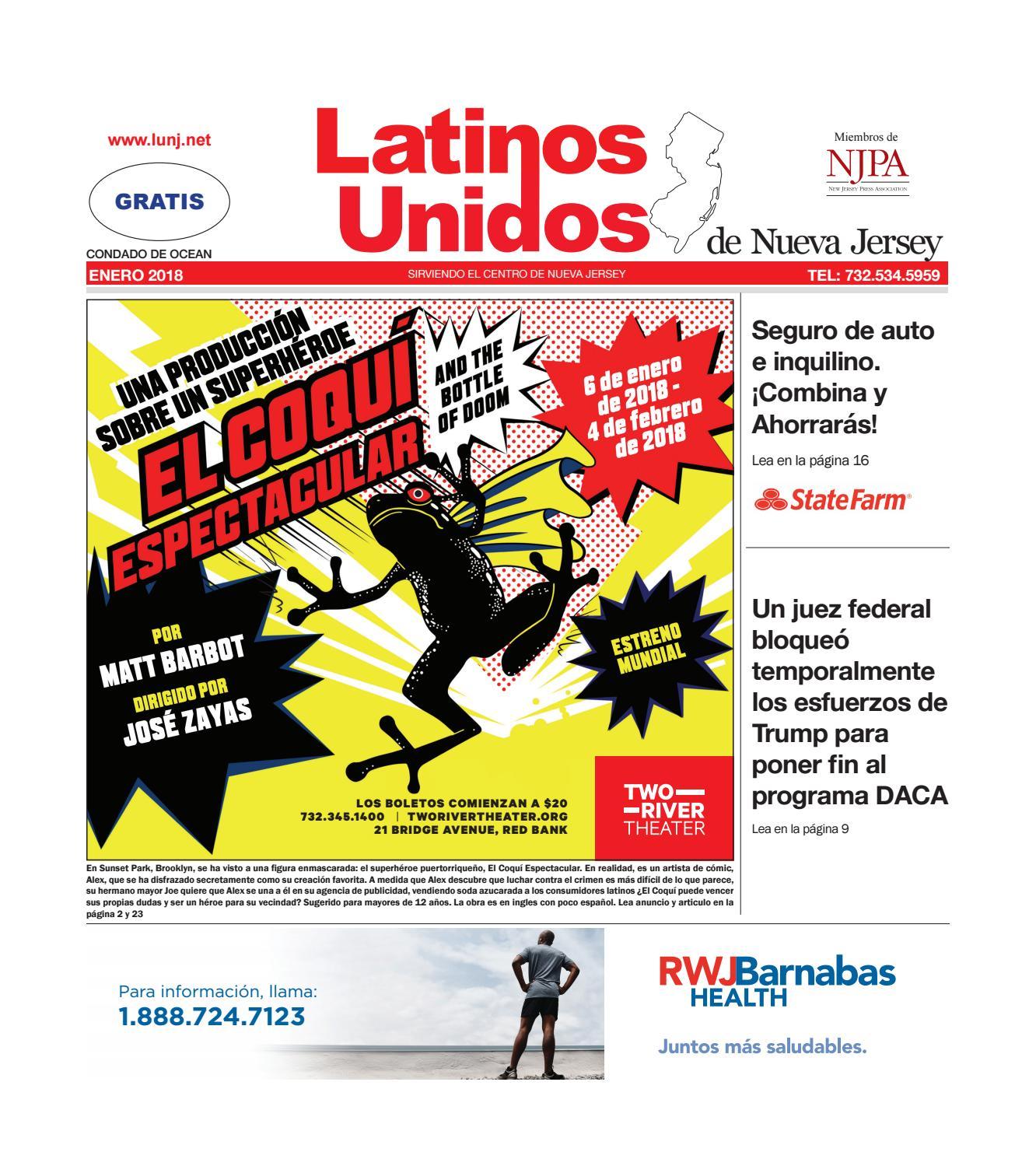 Latinos Unidos Ocean Jan2018 by Latinos Unidos de NJ - issuu