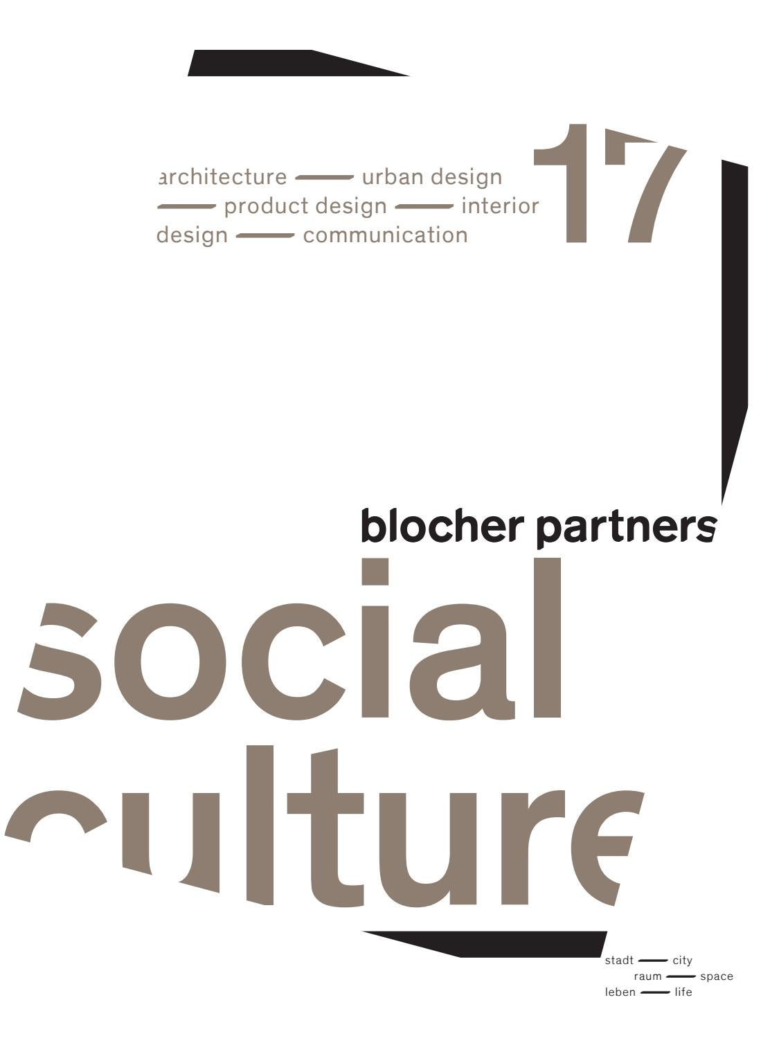blocher partners social culture 2017 by typenraum - issuu