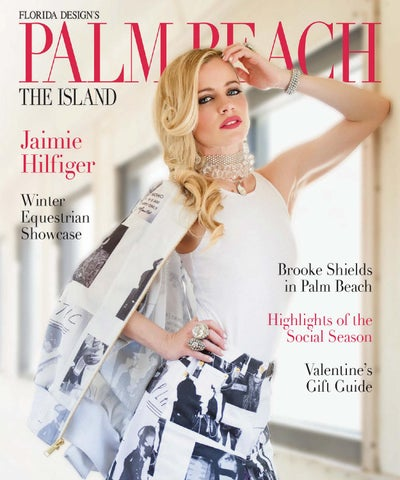 76011abe Jaimie Hilfiger Winter Equestrian Showcase Brooke Shields in Palm Beach  Highlights of the Social Season Valentine's Gift Guide