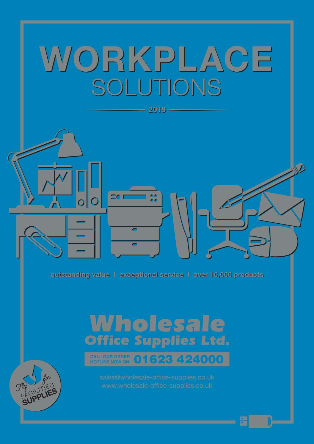 Wholesale Office Supplies - Workplace solutions 2018 by Facets ...