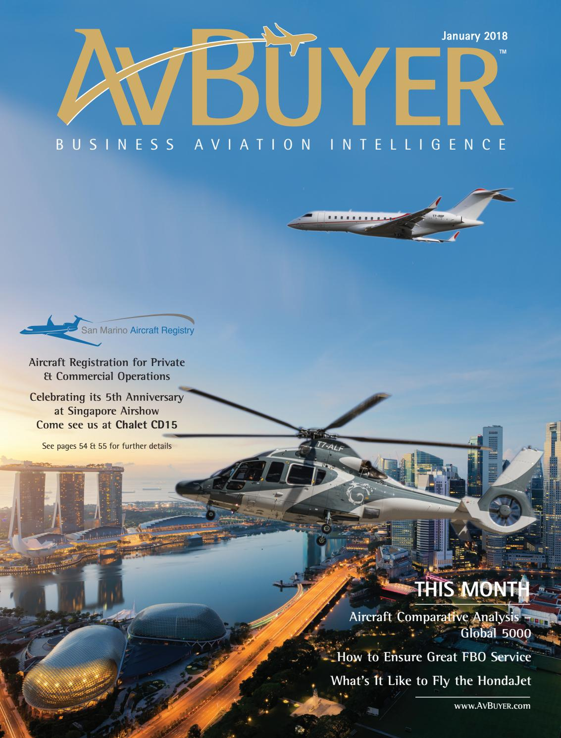 AvBuyer Magazine January 2018 by AvBuyer Ltd  - issuu