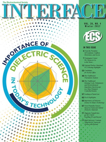 Interface Vol 26 No 4 Winter 2017 By The Electrochemical Society
