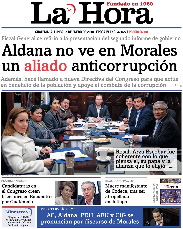 La Hora 15-01-2018 by La Hora - issuu